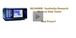 SyntheSys BA14400B video , specs and quotes click here.