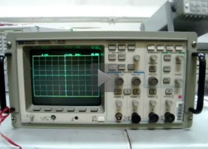 Learn how to play Tetris on HP 54602A Oscilloscope!