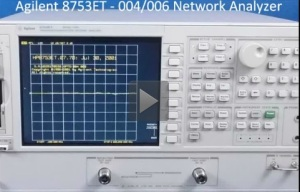 Click here for video, specs and quotes for Agilent 8753ET