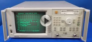 Agilent 8711B w Option 1EC Economy Network Analyzer, 300 KHz - 1
