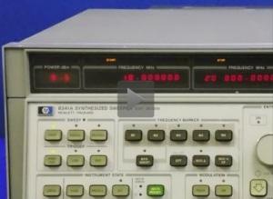 Agilent 8341A Sweep Generator Video Linl
