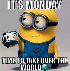coffee monday take over world