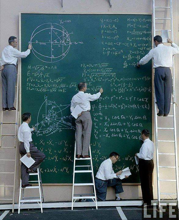 NASA before powerpoint...