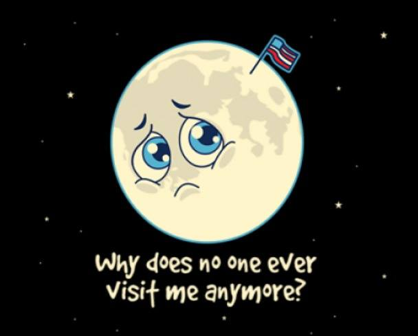 Aw Poor Moon...