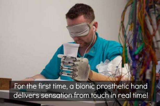 Sensation from Prosthetic!!