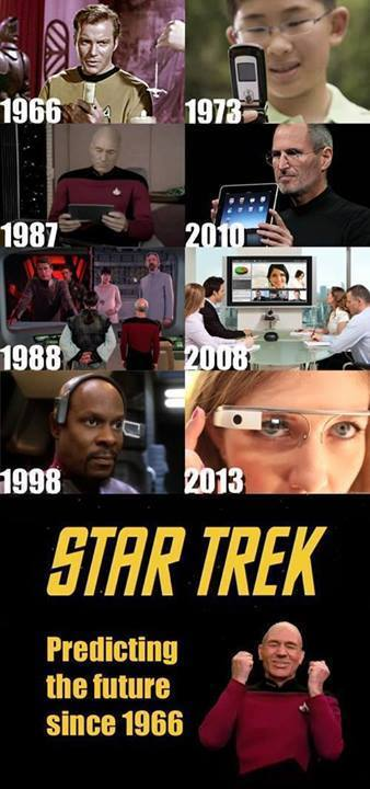 Star Trek... Predicting the future since 1966.
