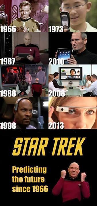 Star Trek... Predicting the future since 1966.