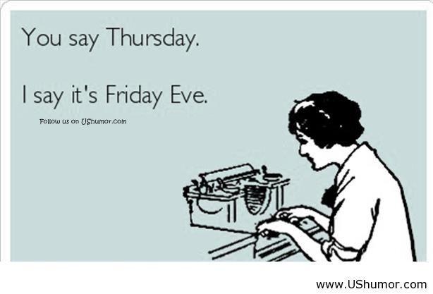Happy Thursday from BRL Test!