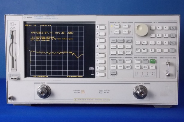 8722ES / 010 Agilent 40 GHz Network Analyzer with Time Domain. Can anyone beat BRL Test's $25,000 ?