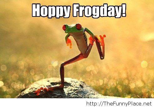 Hoppy Frogday!