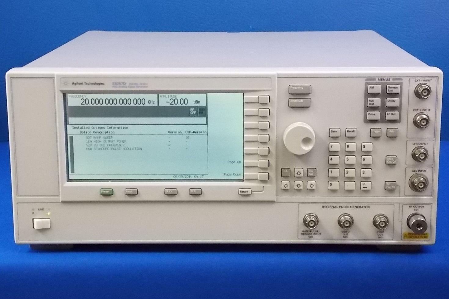 Agilent Signal Generator : E d agilent signal generator ghz on sale at brl test