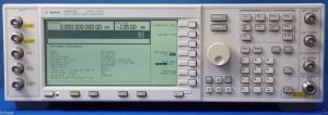 E4432B/1E5/UN7/UN8 On sale at BRL Test $2,490.  Agilent signal generator 3 GHz, high stability, BER, real-time IQ baseband generator.