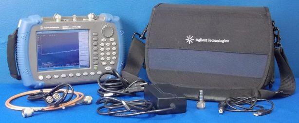 N9340A / TG3 Handheld Spectrum Analyzer at BRL Test.